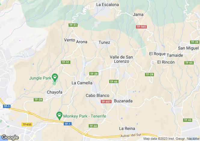 Map for La Florida, Tenerife, Spain