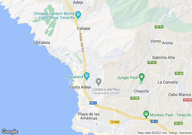 Map for Balcón del Atlántico IV, Torviscas Alto, Tenerife, Spain