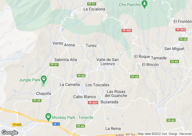 Map for , Valle de San Lorenzo, Tenerife, Spain