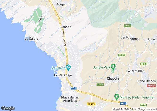 Map for Balcón del Atlántico, Torviscas Alto, Tenerife, Spain