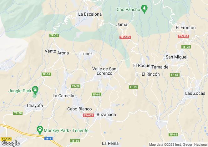 Map for Valle San Lorenzo, Tenerife, Spain