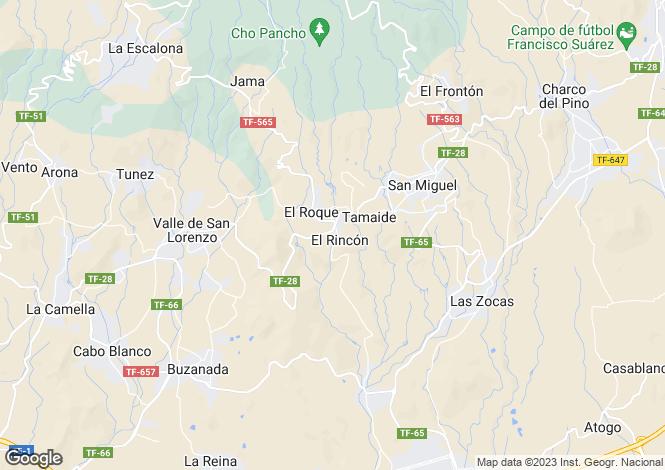 Map for San Miguel De Abona, Tenerife, Canary Islands