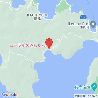 コーラルのみしゃんの地図