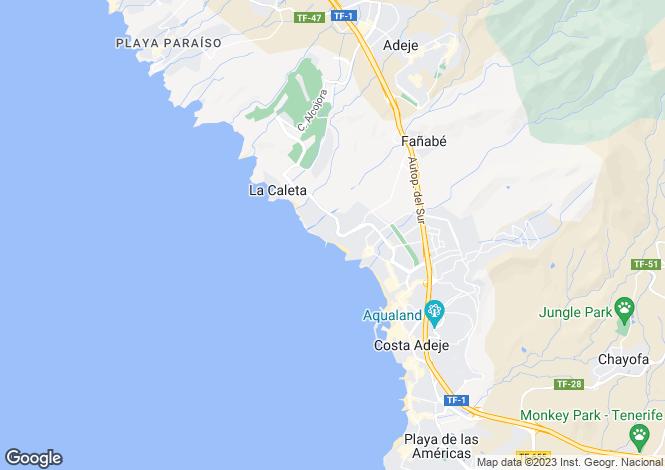 Map for El Duque, Tenerife, Spain