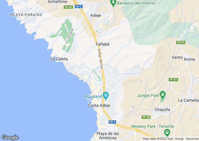 Map for Miraverde, Tenerife, Spain