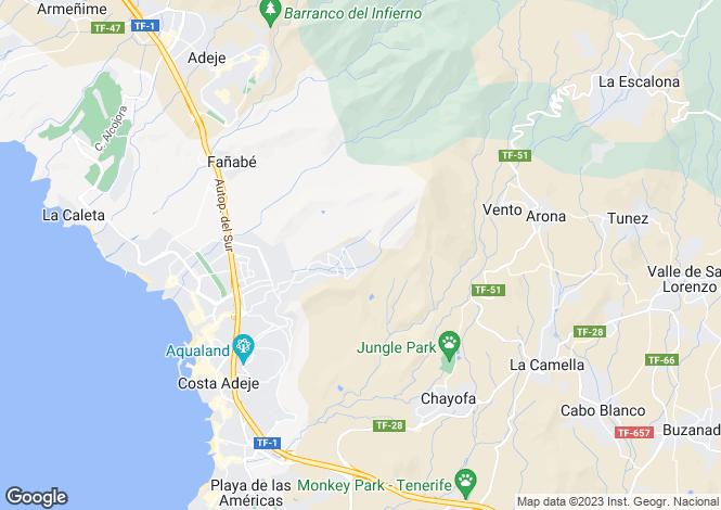 Map for Roque Del Conde, Tenerife, Spain