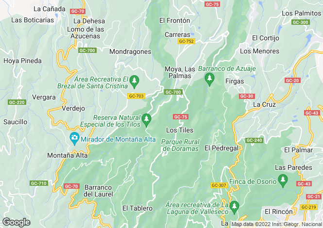 Map for San Fernando, Gran Canaria, Canary Islands