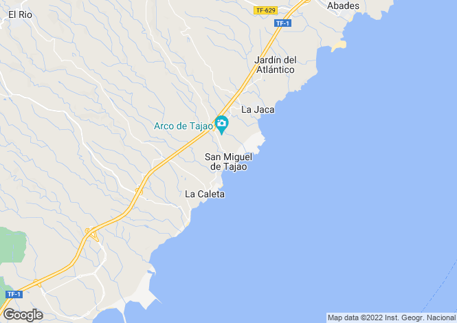 Map for San Miguel del Tajao, Tenerife, Spain