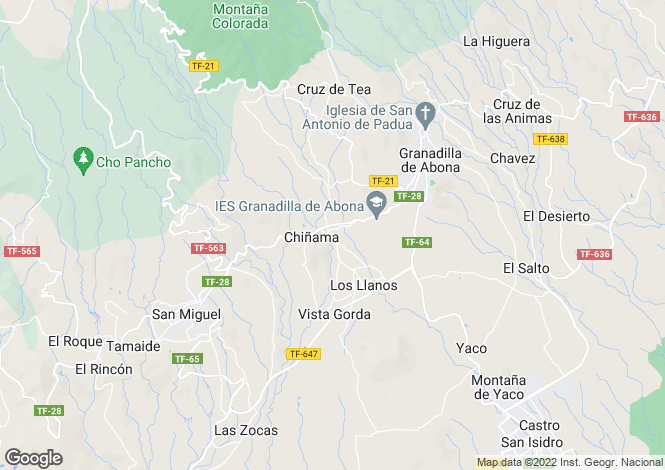 Map for , Charco del Pino, Tenerife, Spain