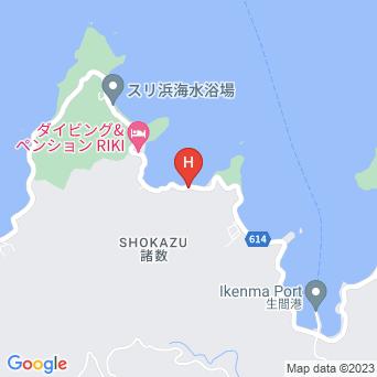 ベアフットベースキャンプ加計呂麻の地図