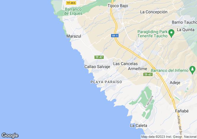 Map for Callao Beach, Callao Salvaje, Tenerife, Spain