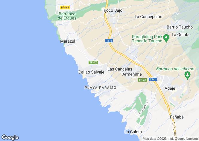 Map for El Jable, Callao Salvaje, Tenerife, Spain
