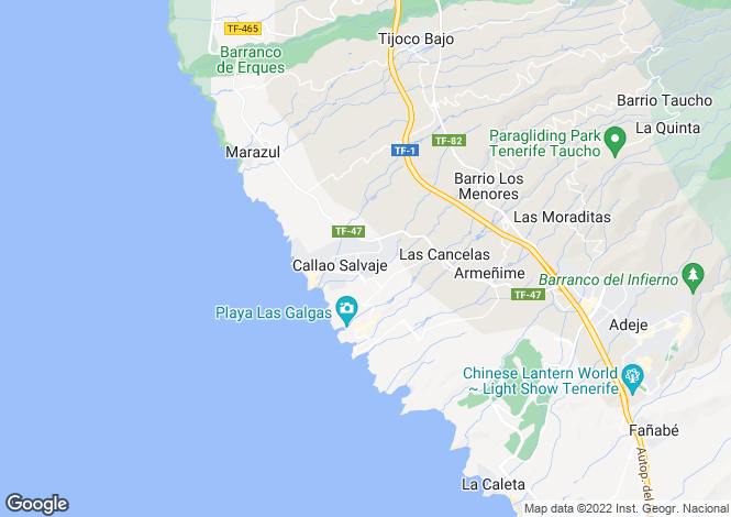 Map for Sonia, Callao Salvaje, Tenerife, Spain