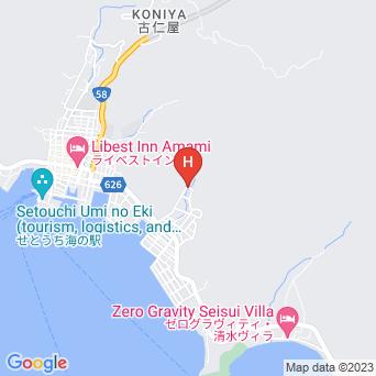 ダイバー民宿ふじの地図