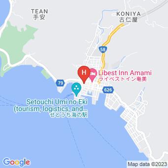 古仁屋旅館別館の地図