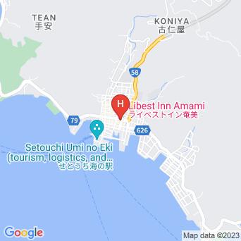 サンフラワーシティホテルの地図