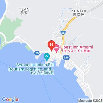ビジネスホテルプラザせとうちの地図