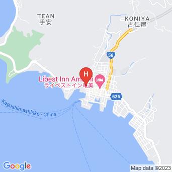 あづま旅館の地図