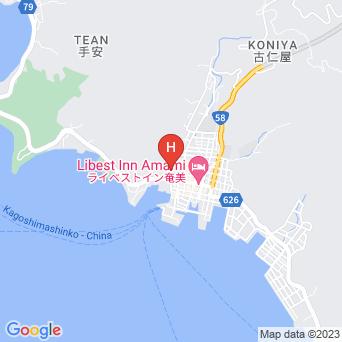 南州旅館の地図