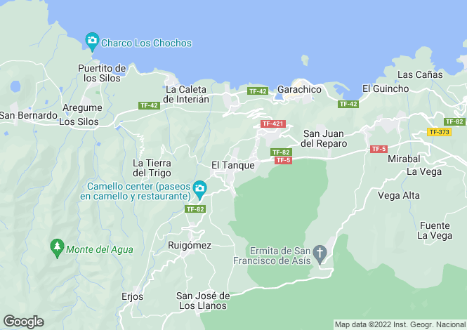 Map for , El Tanque, Tenerife, Spain