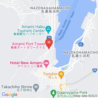 奄美ポートタワーホテルの地図