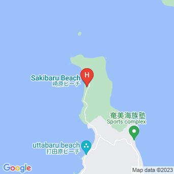 民宿崎原ビーチの地図