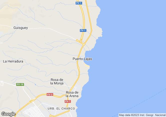 Map for Puerto del Rosario, Fuerteventura, Spain
