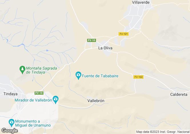 Map for La Oliva, Fuerteventura, Spain