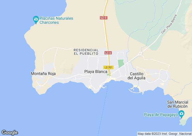 Map for Playa Blanca, Las Palmas, Spain