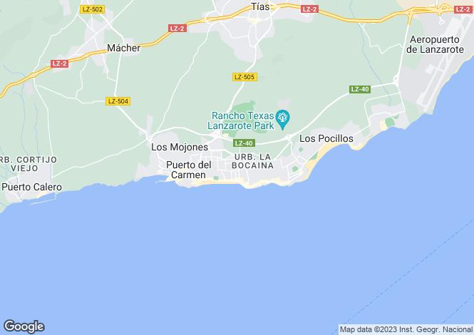 Map for Puerto Del Carmen, Las Palmas, Spain