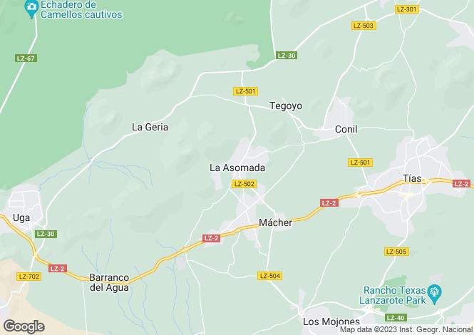 Map for Tias, Lanzarote, Spain