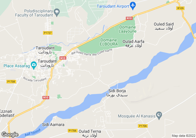 Map for Taroudant, 83000, Morocco