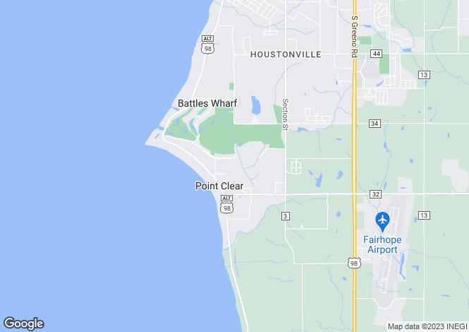Map for Alabama, Marengo County, Dayton