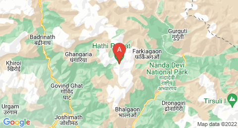 map of Haathi Parvat (India)