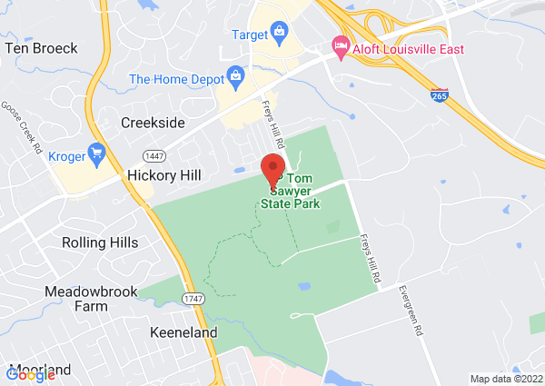 Map of 3000 Freys Hill Road, Louisville, KY, United States