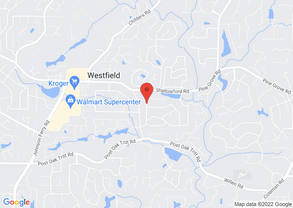 Map of 3055 Mountain Trace Northeast, Roswell, GA, USA
