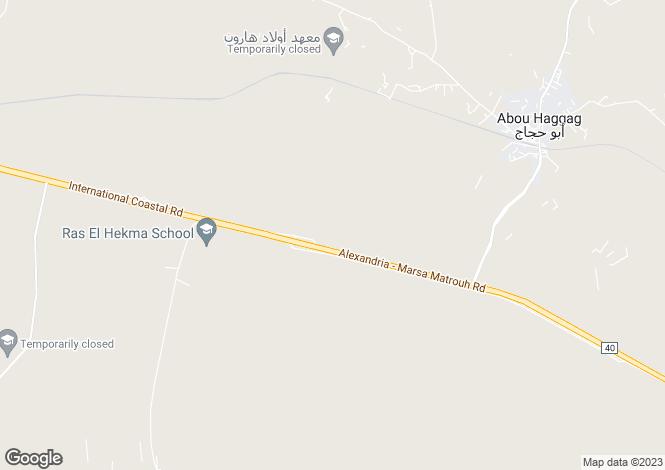 Map for Ra`s al Hikmah, Matruh