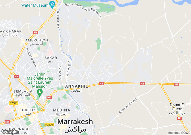 Map for Marrakesh, 40000, Morocco