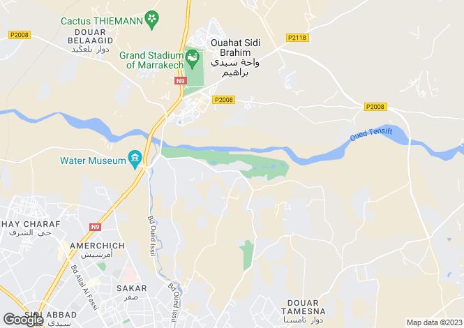 Map for Villa Liaca, Palmeraie, Marrakech, Morocco