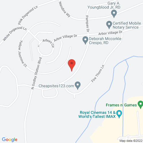 Map of 126 Pampas Drive. Pooler, Ga, 31322
