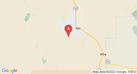 map of Ajo Peak (United States of America)