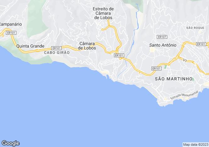 Map for Câmara de Lobos, Câmara de Lobos, Madeira