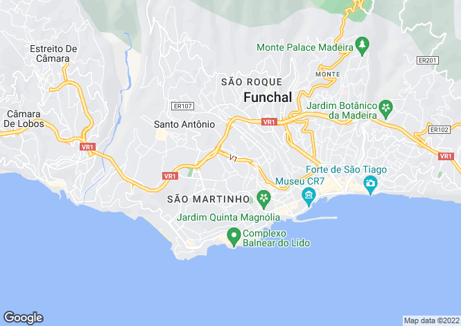 Map for Madeira