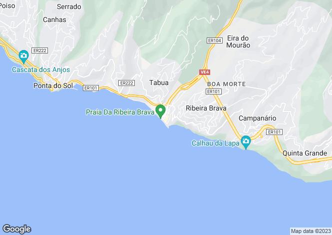 Map for Ribeira Brava, Ribeira Brava, Madeira