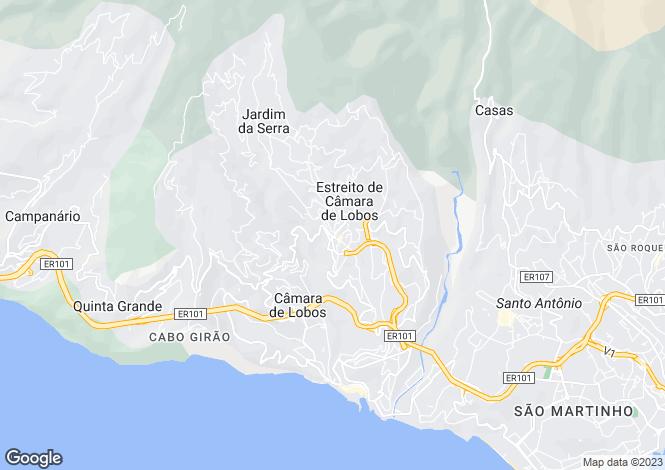 Map for Ribeiro Real , Estreito Câmara de Lobos, Câmara de Lobos