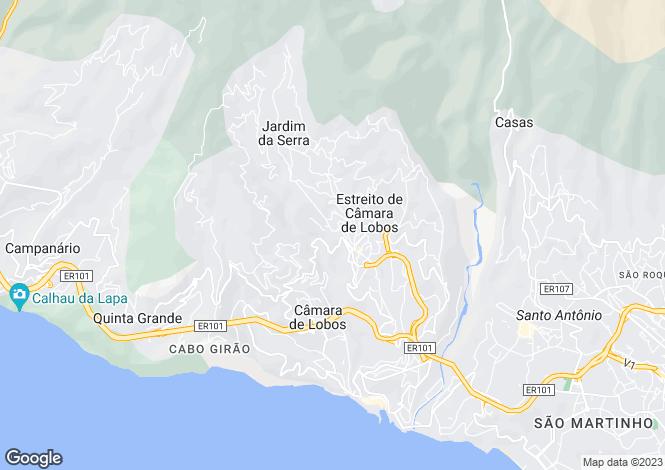 Map for Concelho De Camara De Lobos, Madeira