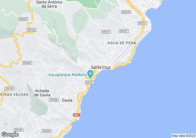 Map for Santa Cruz, Santa Cruz, Madeira