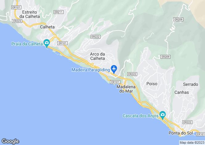 Map for Arco Da Calheta, Calheta, Madeira