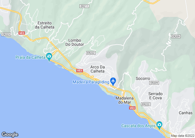 Map for Arco Da Calheta, Calheta, Madeira