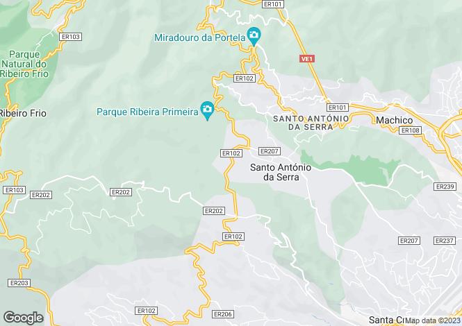 Map for Concelho Santa Cruz, Madeira